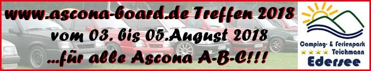 Ascona Board Treffen 2018